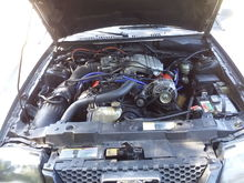 1996 mustang 3.8 engine in a 2001 mustang