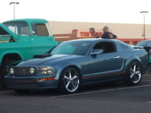 Photo was taken at the pavilions in Scottsdale and Saturday nights usually about 3 to 500 cars