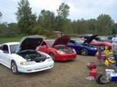the crew at the local track