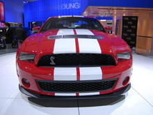 2010 Ford Mustang Shelby GT500 Front Square High
