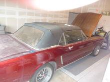 65 Mustang convertible 5/09.