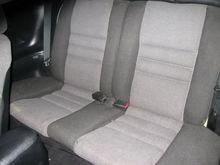 old Rear Seats