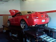 Getting first custom dyno tune at Pro-Dyno in January 2010.