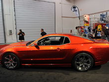 2010 Saleen s281 sema orange shopped