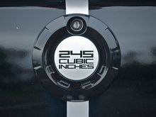 mustang rear emblem new