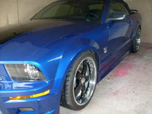 2005 sonic blue mustang gt cab