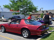 my 1990 IROC-Z at a car show, 2001