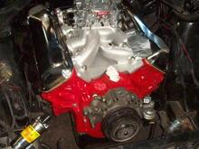 New Engine (351c) during installation.