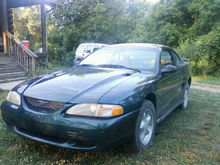 Garage - Crazy's Mustang