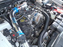 4.6L sohc (RIP) This motor is gone to heavan. Now this has mutated to an  MMR Street Mod 750SE 4.75 Liter 2V Longblock