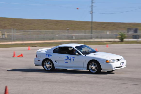 Just a little bit of countersteer...