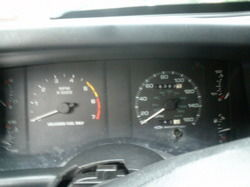 Wow 160mph and calibrated by ford guess it was ment for the Autobahn
