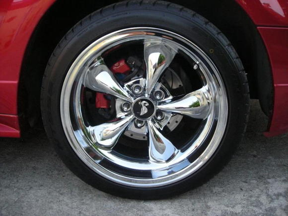 Bullet Cobra wheells