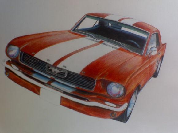 65 Mustang V8 Auto