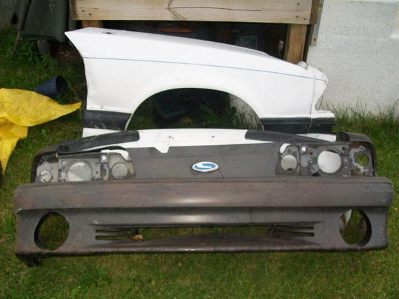 New GT Front bumper with Saleen emblem