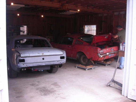 my 2 in the barn