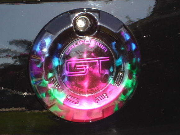 Unique Automotive Designs custom rear emblem