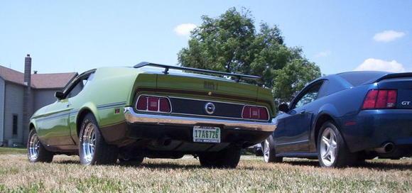 '72 Mach 1