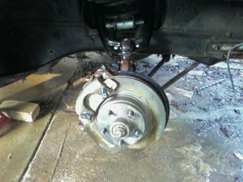 Brake upgrade (Kachow!)
