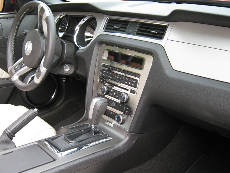 ford mustang v6 2005 2014 interior modifications. Black Bedroom Furniture Sets. Home Design Ideas