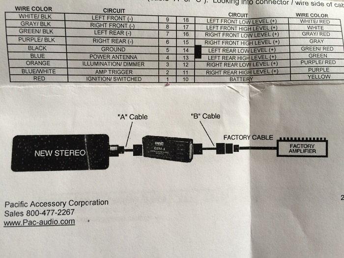 roem nis2 & aftermarket headunit wiring question my350z com  pac roem nis2 wiring diagram #10