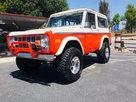 1975 Ford Bronco Sport Stroppe Build Ltd. Edition