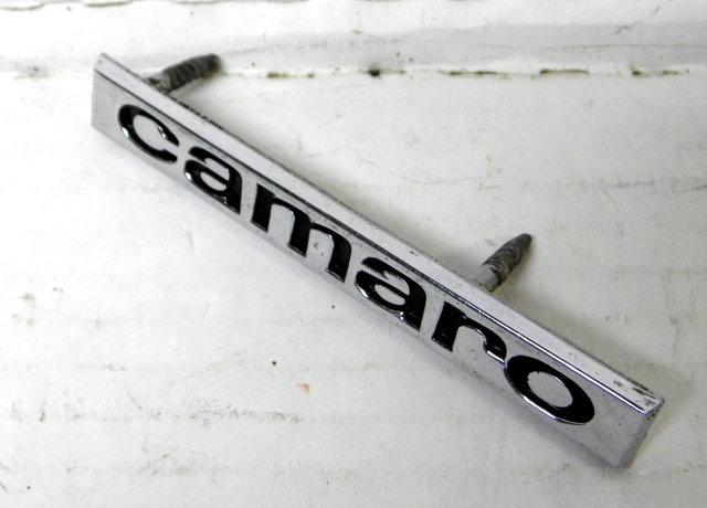 1967 67 Chevy Camaro Emblem  GM Factory original