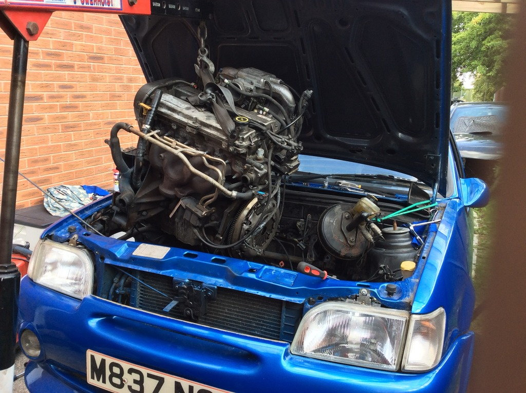 Escort Van - 1 8D to 1 8TD engine swap? - PassionFord - Ford