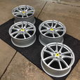 "Ferrari F430 Scuderia 19"" OEM Wheel Set- Silver  for sale $3,500"