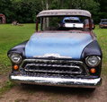 1957 Chevy BBW Deluxe Fleetside  for sale $12,500