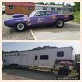 1970 Dodge Super B Drag Car plus 2014 Toy Hauler Combo