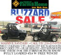 Blizzard Sale! 4x4 UTVS at Family Farm and Home  for sale $6,999