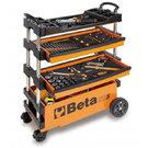 BETA TOOLS C27S-O FOLDING TOOL TROLLEY ORANGE - 027000201