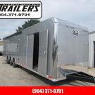 2019 34' Pro Stock Bath Package w/ A/C Elect Awning Race Tra