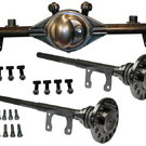 "GM A Body 9"" Inch Ford Rear End Kit with Axles"