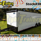 2021 30' Continental Cargo Race Trailer