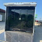 34 HAULMARK GLASS DOORS 2 TON MINI SPLIT RACE TRAILER IF YOU