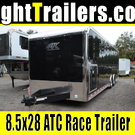 IN STOCK - 28ft ATC Quest w/ 305 Pack - 28' Race Car Trailer