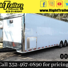 2021 Pro Stock Elite 34' Trailer - Dragster Prep- IN STOCK