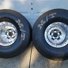 Sander Engineering Double Bead Lock Drag Rims w/ tires