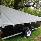 Custom Built 7 x 14 Car Trailer