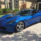 2014 Chevrolet Corvette Premiere Edition Laguna Blue Coupe