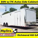 2019 C/W 8.5x30 w/Side Cabinets