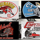 Garage Banner Collection from MERCHANTS OF SPEED