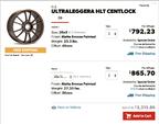 GT3 OEM Wheels  for sale $2,500