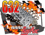 NEW 632 Rotating Assembly & Block  for sale $4,800