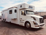 2010 Volvo Dual Slide Coach, 465hp, Automatic, 4 Bunk Beds.