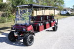 LIFTED and LOADED Club Car 8 Passenger Limo Golf Cart