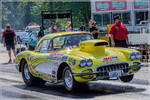 1959 corvette drag car & 20 ft enclosed trailer