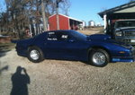 1987 Pontiac Firebird Rolling Chasis